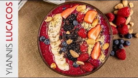 Berries & Yogurt bowl   Yiannis Lucacos