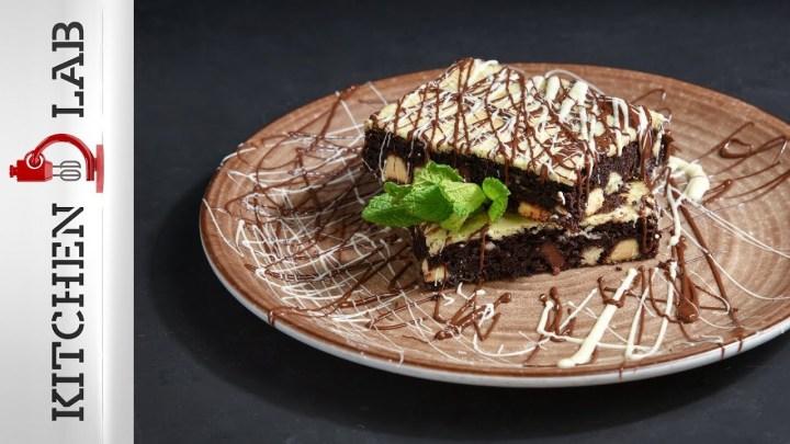 Brownies cheesecake Επ.46 | Kitchen Lab TV | Άκης Πετρετζίκης