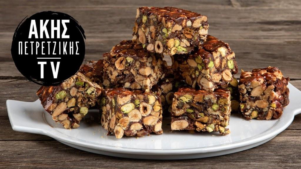 Ιταλικό Panforte με Σοκολάτα Επ. 9   Kitchen Lab TV   Άκης Πετρετζίκης