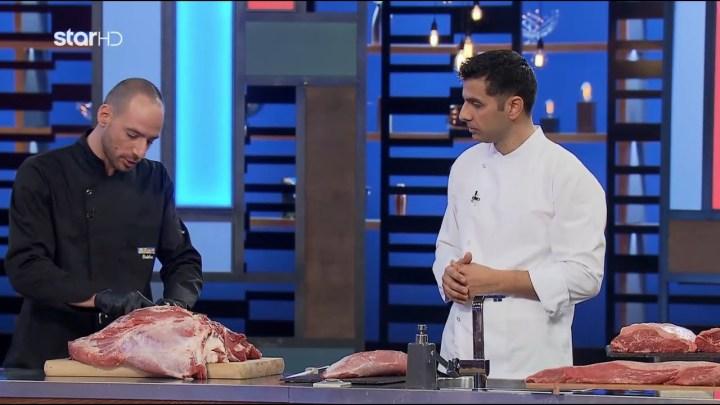 Όλα τα μυστικά για τις κοπές του κρέατος από τον Στέλιο Μαστοράκο!   MasterChef 4