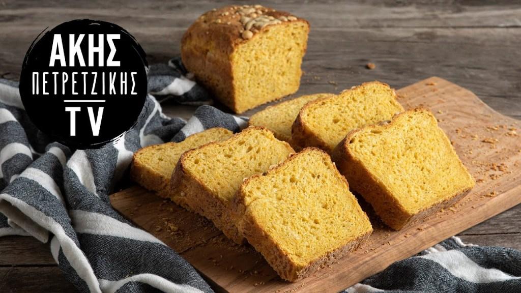 Ψωμί με Καρότο και Γραβιέρα Επ. 9   Kitchen Lab TV   Άκης Πετρετζίκης