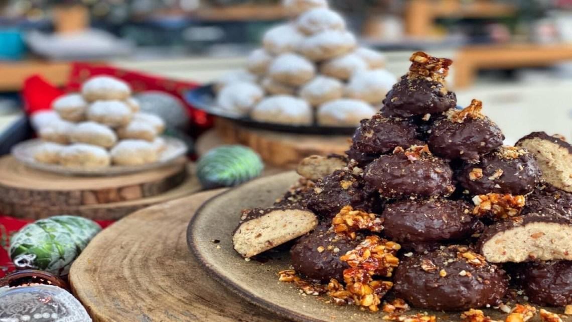 Σοκολατένιοι κουραμπιέδες με αλεύρι για όλες τις χρήσεις Λάμπρος Βακιάρος