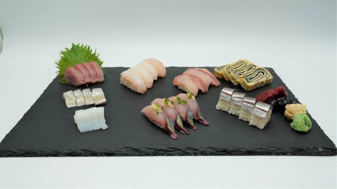 MasterChef 5 | Sashimi and nigiri platter