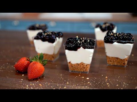 Εύκολο Cheesecake σε 10′ (Συνταγή Ζαχαροπλαστείου) – 10′ No Bake Cheesecake