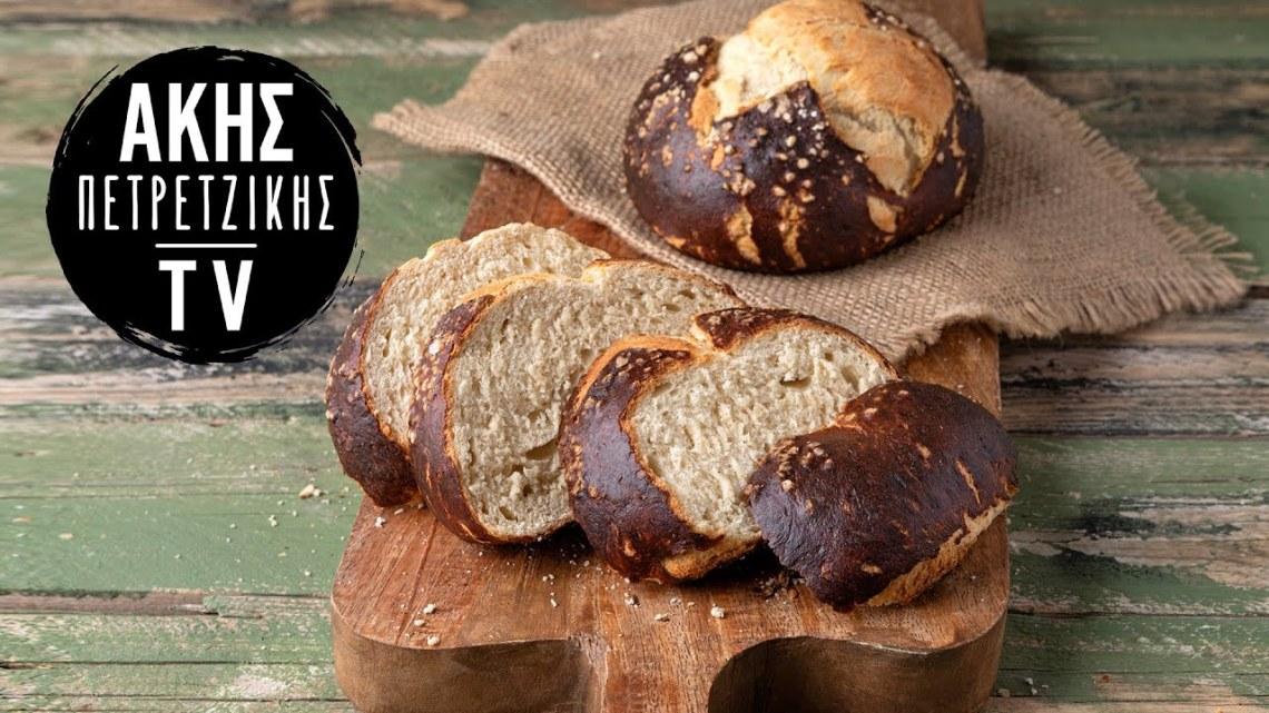 Ψωμί Πρέτζελ Επ. 51 | Kitchen Lab TV | Άκης Πετρετζίκης