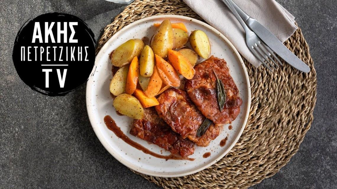 Ψαρονέφρι με Προσούτο (Saltimbocca alla Romana) Επ. 59 | Kitchen Lab TV | Άκης Πετρετζίκης