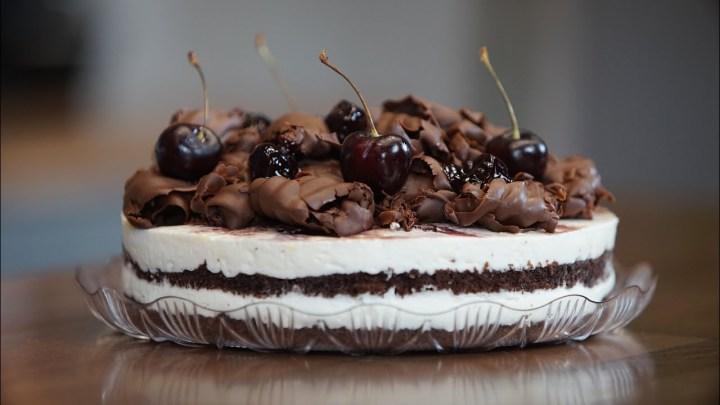 Τούρτα Black Forest σε 10' (Συνταγή Ζαχαροπλαστείου) - Black Forest Cake