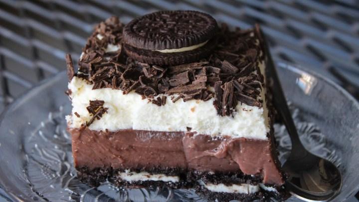 Εύκολο Γλυκό Ψυγείου με μπισκότα OREO - Pudding Cake with Oreo