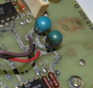 Failed ARP Tantalum Capacitor
