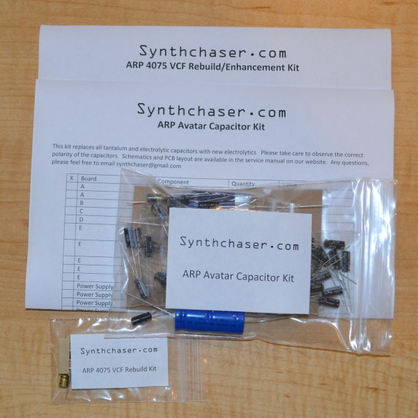 ARP Avatar Capacitor Kit