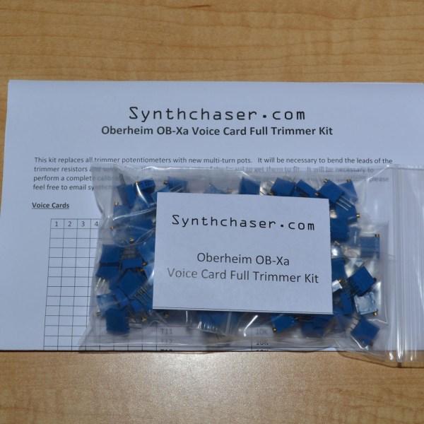 Oberheim OB-Xa Voice Card Full Trimmer Kit