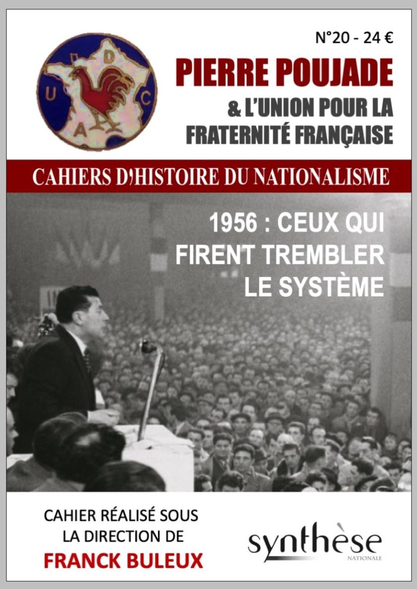 CHN 20 : Pierre Poujade, Union et Fraternité française - Synthese Editions