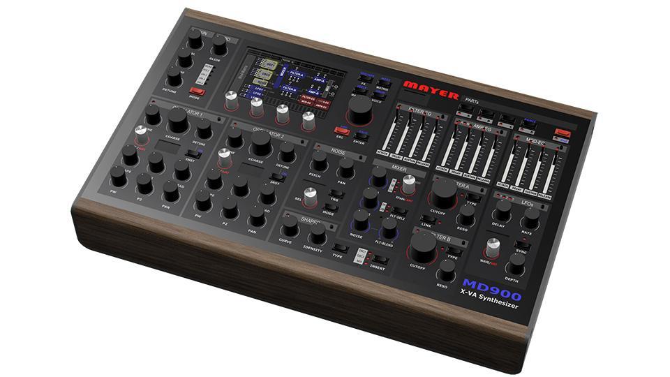MD900 extended Virtual Analog (XVA) Desktop Synthesizer