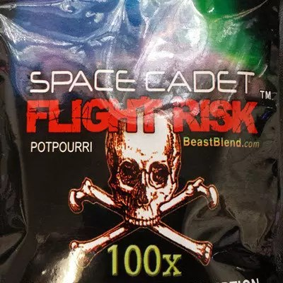 Buy Space Cadet Flight Risk Herbal Incense | Where to buy Space Cadet Herbal Incense | Space Cadet Flight Risk (10g) Herbal Incense
