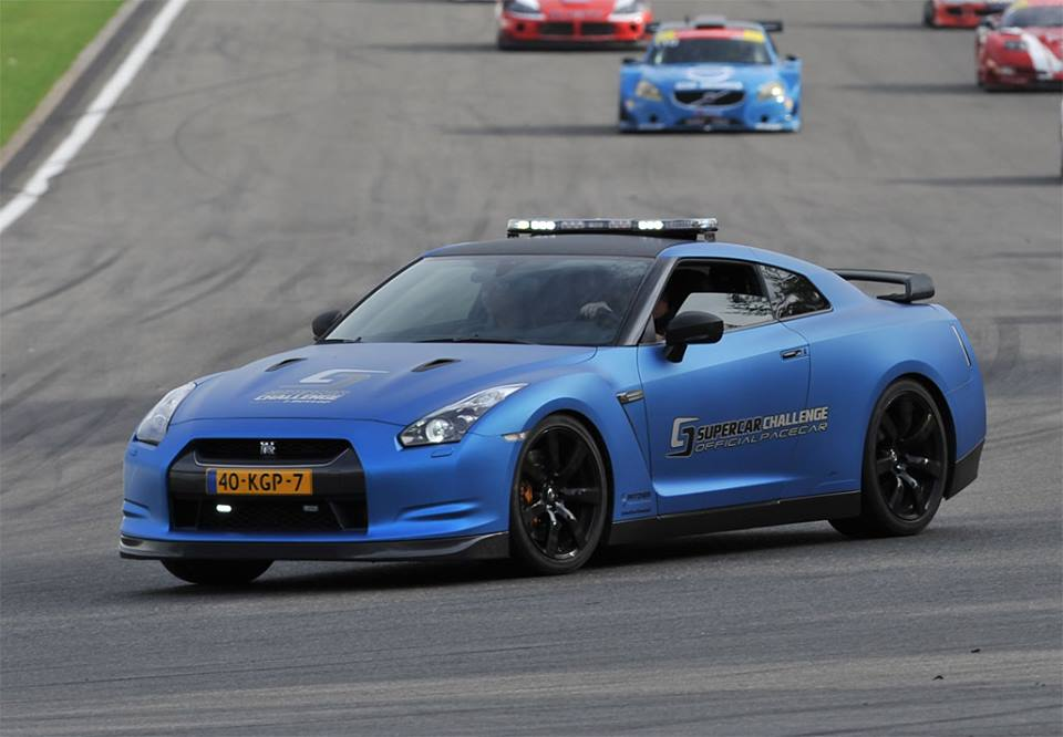 Nissan GTR - Supercar Challenge Official Pacecar - Syntix Innovative Lubricants