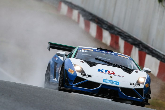 Syntix Superprix in Zolder - Supercar Challenge powered by Pirelli - NSC Motorsport Lamborghini Gallardo FL2 GT3 on track - Syntix Innovative Lubricants