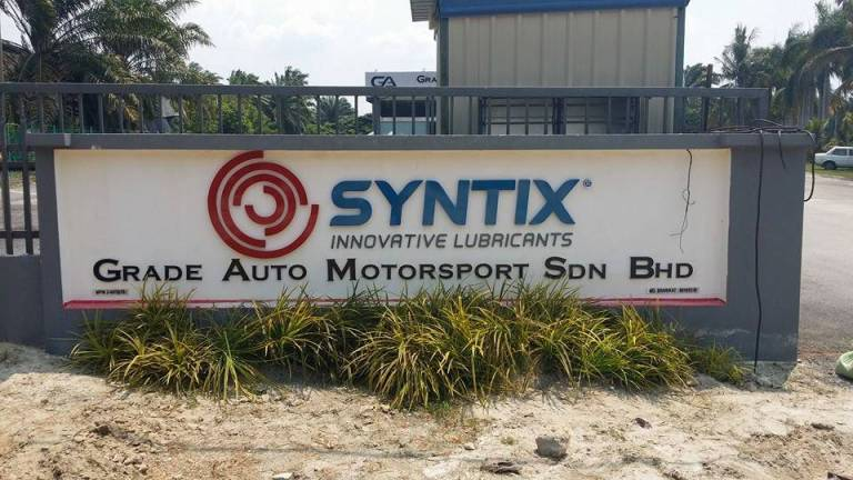 Syntix Malaysia: Grade Auto Motorsport 4