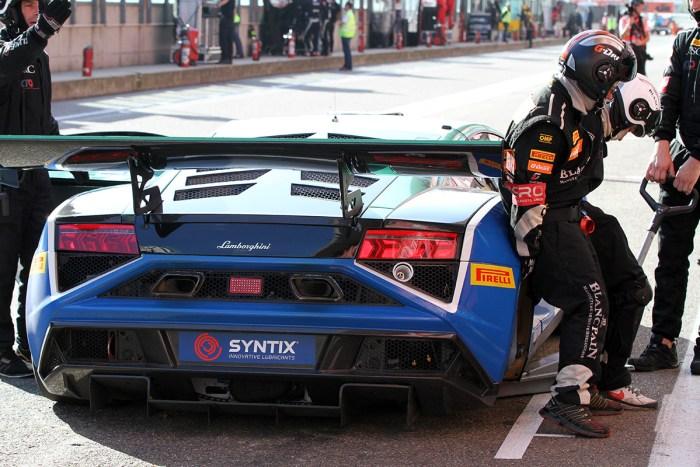 NSC Motorsport - Belgian Masters Blancpaint Sprint Series - Lamborghini Gallardo GT3 back