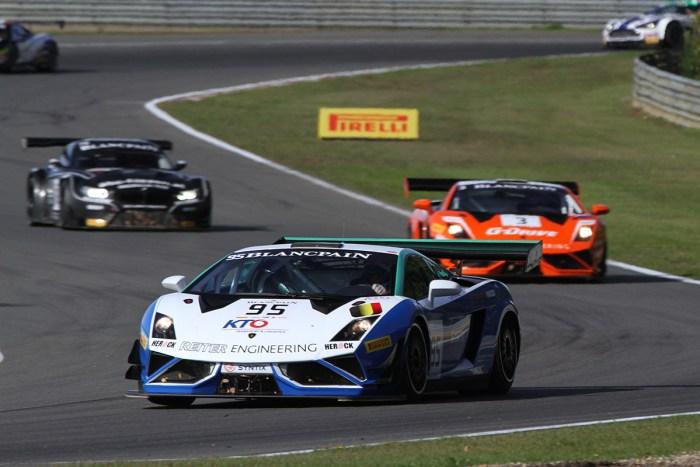 NSC Motorsport - Belgian Masters Blancpaint Sprint Series - Lamborghini Gallardo GT3