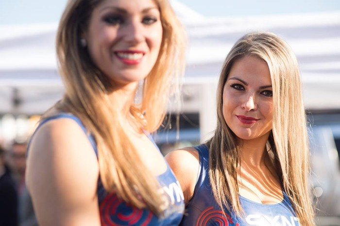 Syntix Girls - Blancpain Sprint Series - Syntix Innovative Lubricants