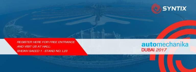 Automechanika Dubai 2017 Header