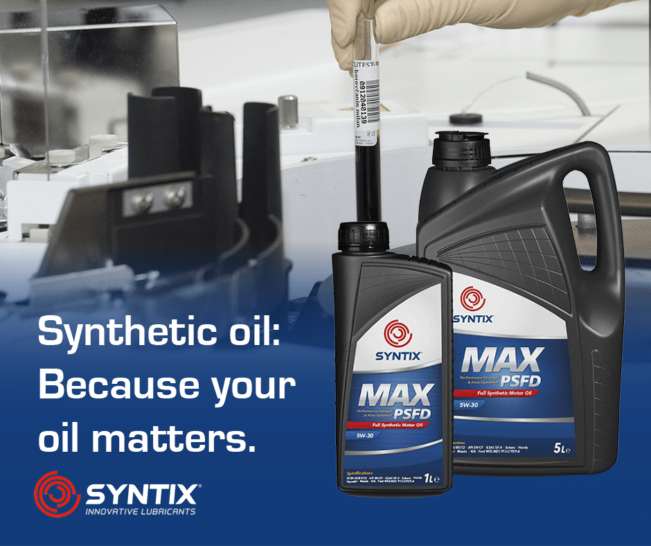 Synthetic Engine Oil - The importance of Synthetic Oil - Syntix Innovative Lubricants