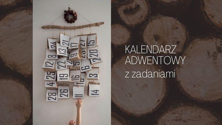 Kalendarz adwentowy z zadaniami