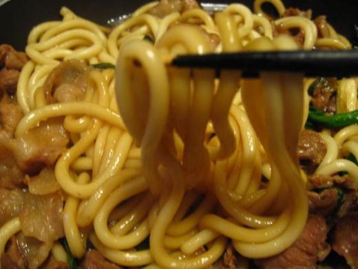 うどん(すき焼き味)