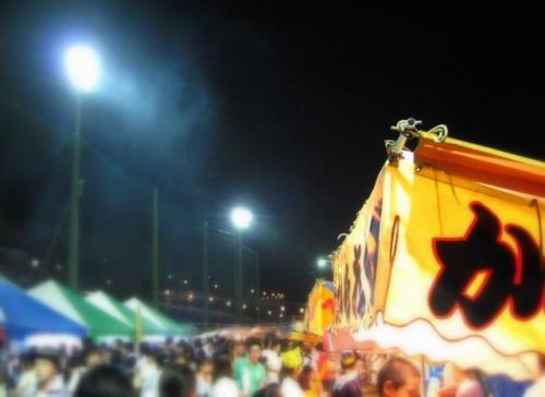 奥物部湖水祭2011 会場3-1