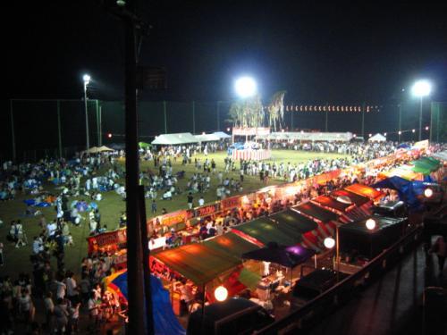 奥物部湖水祭2011 会場