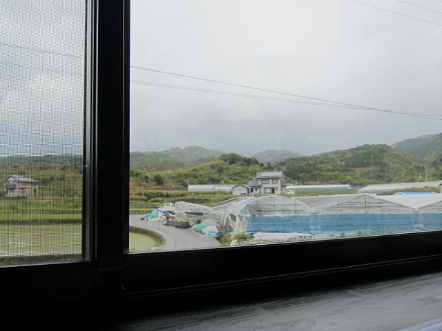 手打うどん十兵衛 窓から見える風景