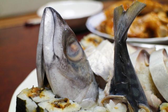 寺尾鮮魚店サバ寿司4
