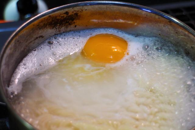 サッポロ一番塩ラーメンの作り方6