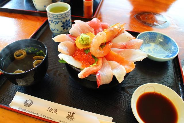 活魚レストラン藤・高知・海鮮丼10