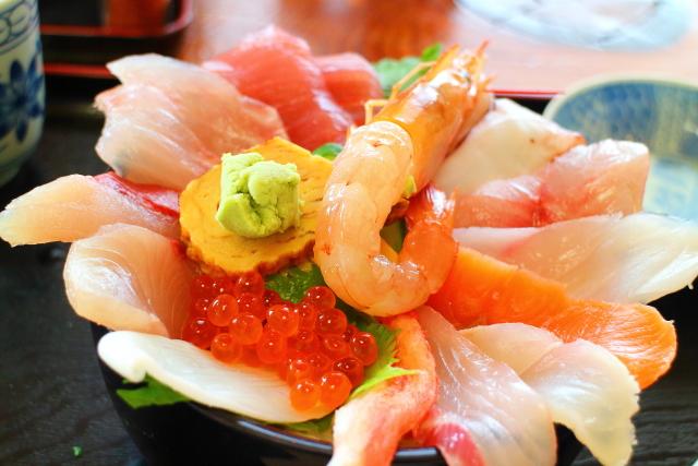 活魚レストラン藤・高知・海鮮丼