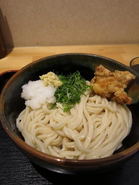 さぬき自家製麺 浜心うどん 麺!圧倒的変化!