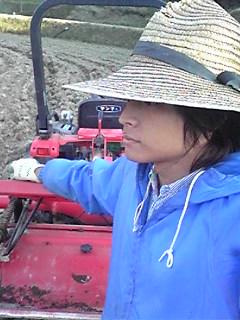 農家の帽子