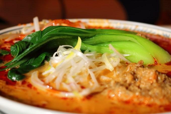 丸源ラーメンの担々麺