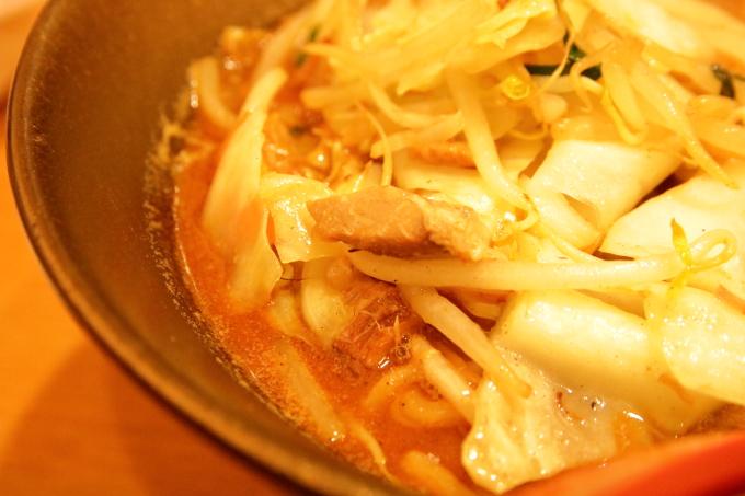 ラーメン國丸。南国店 金の炙り味噌野菜ラーメン