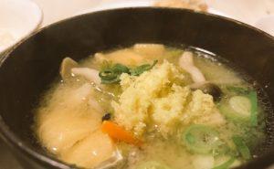 生姜味噌汁