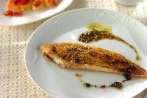 シタヒラメ(舌平目)の料理
