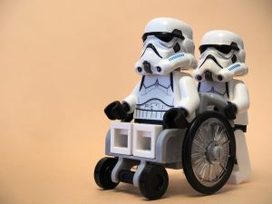 車椅子のストームトルーパー