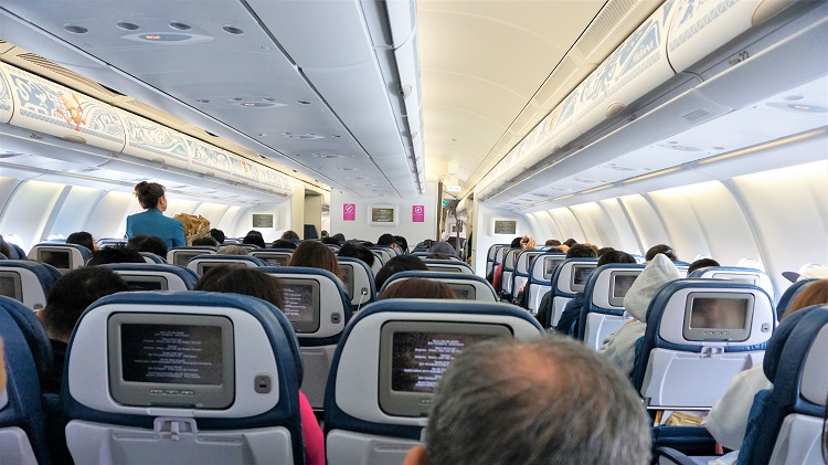ハワイアン航空エコノミークラス