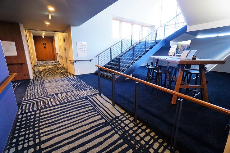クラブメッド廊下