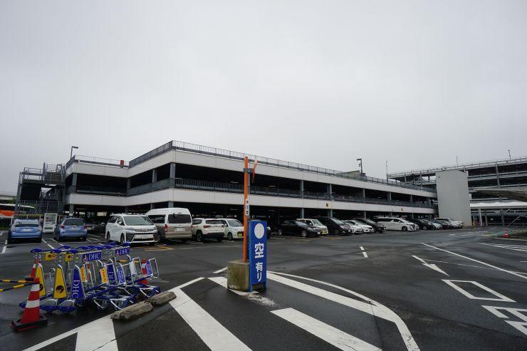 P1立体駐車場