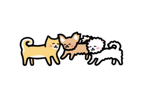 「いぬとあそぶ – 癒しのわんこゲーム」で犬たちに癒やされよう!