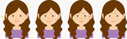 顔の肌荒れが治らない!ザラザラ・ぶつぶつ・かゆみの原因は?