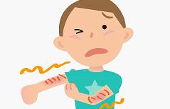蕁麻疹の症状や原因や対処法は?病院での治療法や予防法は?
