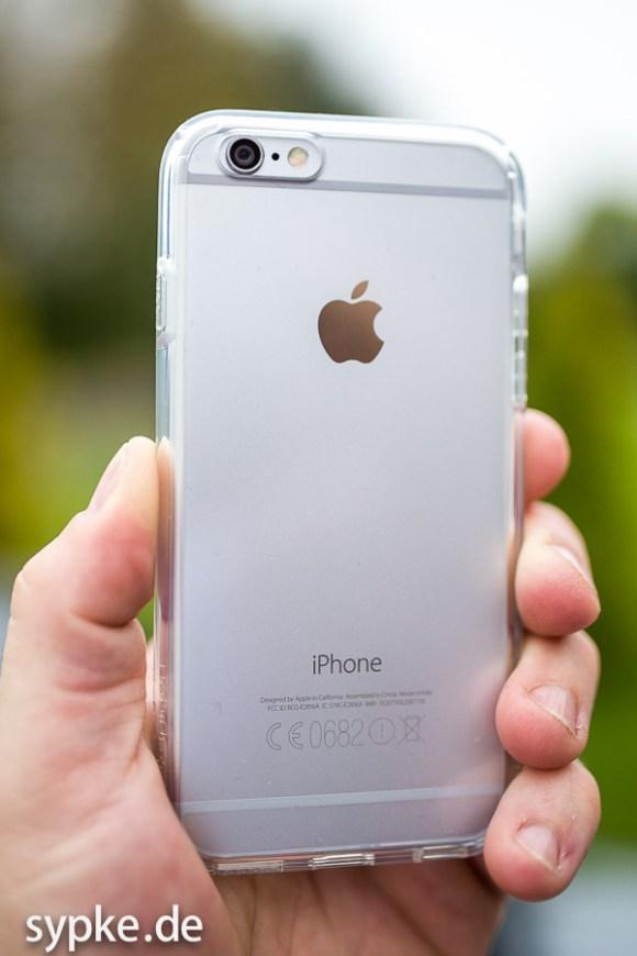 Schützt das Gerät ohne was zu verdecken : iPhone 6 Hülle von Spigen