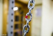Auch Isolierband kann zur Markierung genutzt werden